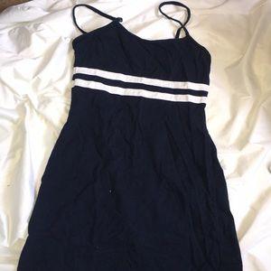 Brandy Meville Navy Blue Dress